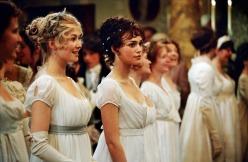 """""""Orgueil et Préjugés"""" (2005) avec Keira Knightley et Rosamund Pike"""