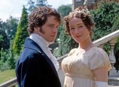 """""""Orgueil et Préjugés"""" (1995) avec Jennifer Ehle et Colin Firth"""